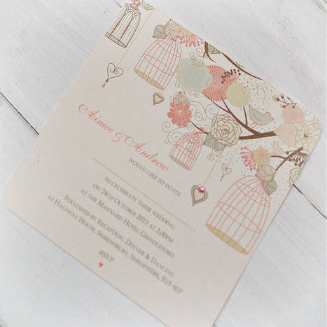 Hanging Vintage Birdcages Invitations | fashion | Scoop.it