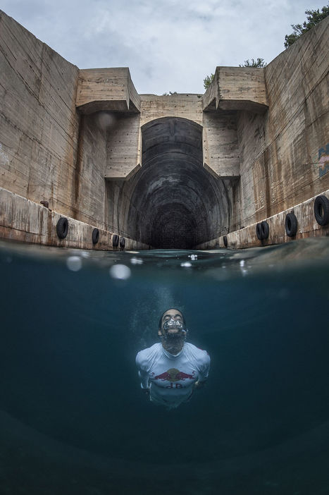 Orlando Duque Dives From Submarine Garage on the Island of Vis in Croatia. | My Photo | Scoop.it