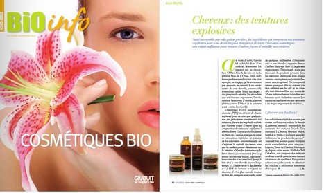 Bio info Hors Série 2013 | Beauty Push, bureau de presse | Scoop.it