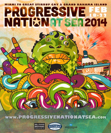 Witness Prog History on the Final Night of Progressive Nation at Sea! | For those about the Rock | Scoop.it