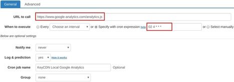 How to set up cron job for KeyCDN Local Google Analytics | How to set cron jobs | Scoop.it