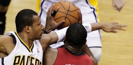 Indiana vence Heat em noite de destempero de Wade e provocações a Lebron. Spurs vencem os Clippers. | esportes | Scoop.it