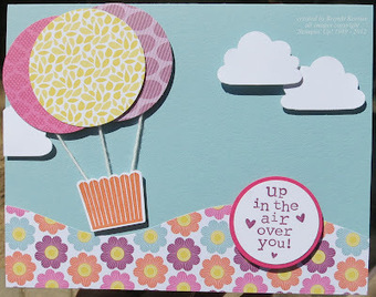 Fun decorations for a girls tea party with cute tea sets and yummy cupcakes  Stampin' Up! Cupcake Punch for hot air balloons! | Cute Cupcake Ideas for Childrens Tea Parties | Scoop.it