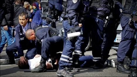 Communiqué suite aux violences policières à l'encontre du cortège lycéens le 17 mars à Marseille | Résistances | Scoop.it