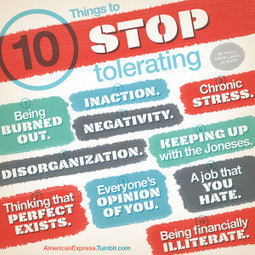 Life is Stressful: 10 Things To Stop Tolerating | Life @ Work | Scoop.it