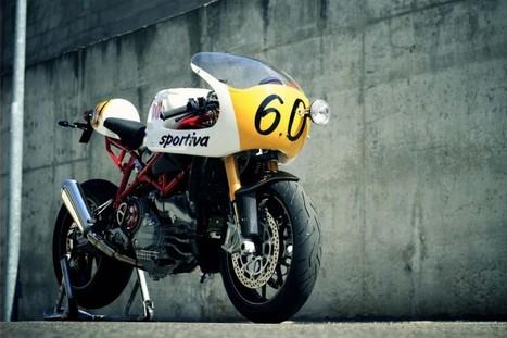Radical Ducati 7½ Sportiva | '94 Ducati 900SS | Scoop.it