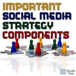 5 Important Components Of Social Media Content Strategy | Building the Digital Business | Scoop.it
