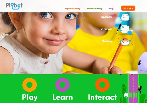 Plobot brings fun educational technology. It connects parents and teachers with the children of today | Coding | Healthy Lifestyles .. Informational Purposes | Scoop.it