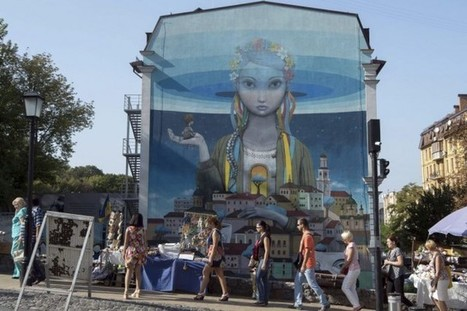 Le street art à l'assaut des murs de Kiev | Olga Shylenko | Arts visuels | Immobilier | Scoop.it