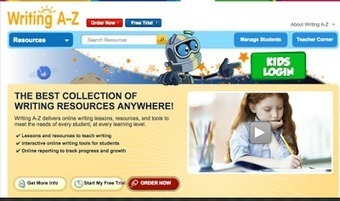 Writing A-Z Adds New Interactive Online Writing Tools ~ Educational Technology and Mobile Learning | iEduc | Scoop.it
