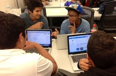 For Low-Income Youth, Learning to Code's About More Than Jobs | Technology on GOOD | Tech Teens | Scoop.it
