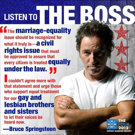 Yea, Listen to the BOSS | Coffee Party Feminists | Scoop.it