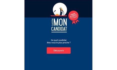Les Echos met en ligne son serious game « Mon Candidat » pour la Présidentielle   Offremedia   ACTU LAB   Scoop.it