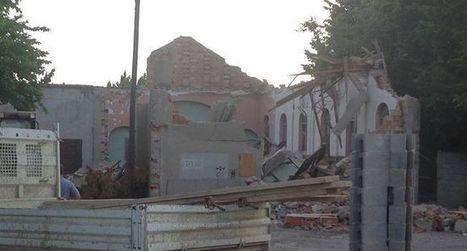 Carcassonne La chapelle Saint-Martin a été détruite mardi | L'observateur du patrimoine | Scoop.it