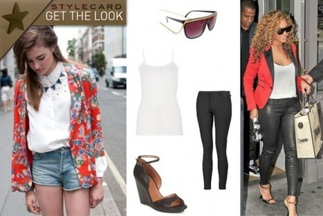 Get The Look: Beyonce   StyleCard Fashion Portal   StyleCard Fashion   Scoop.it