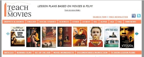TeachWithMovies: Fun Free Lesson Plans for All Grades, Many Subjects | E-learning | Scoop.it