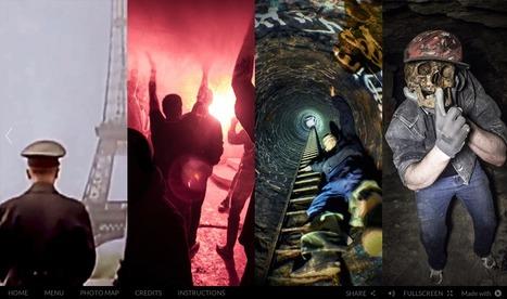 Catacombes de Paris - Interactive webdoc | Interactive & Immersive Journalism | Scoop.it