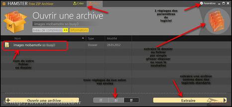 Hamster Zip Archiver un logiciel de compression gratuit original et de qualité | Time to Learn | Scoop.it