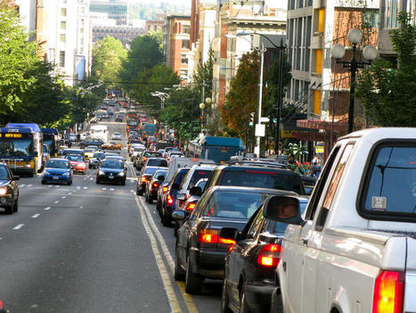 """Traffic intersections are cesspools of air pollution, acc to a new study (""""danger of engine idling"""") 