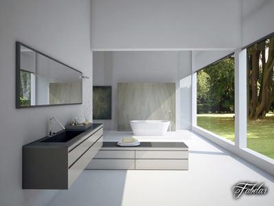 Salle de bains en 3D | 3D Library | Scoop.it