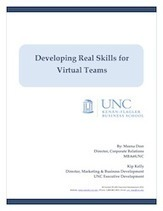 Developing Real Skills for Virtual Teams - UNC white paper | Working virtually | Scoop.it
