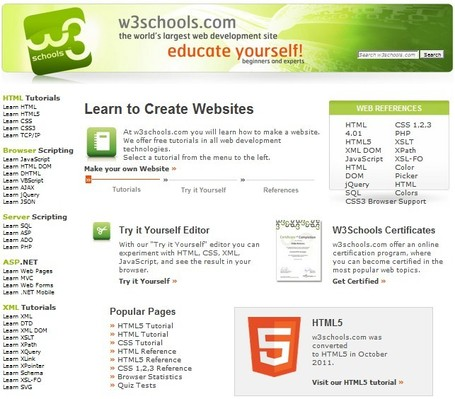 W3Schools Online Web Tutorials | Free Tutorials in EN, FR, DE | Scoop.it
