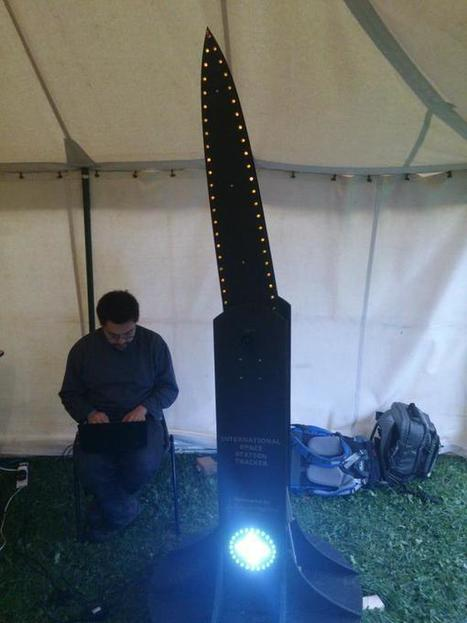 Hacker Fantastic on Twitter: The ISS rotor powered by Arduino and a Raspberry Pi, uses kepler elements to predict position of the ISS. #emfcamp http://t.co/1zx0EDtMYL | Raspberry Pi | Scoop.it