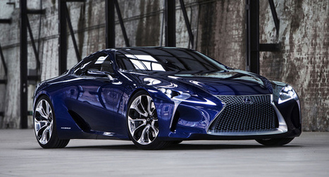 Lexus LF-LC concept headed to production | MY B*S* IS BOSS | Scoop.it
