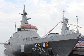 Venezuela : mise à l'eau du nouveau patrouilleur Hugo Chávez, 4ème du type Avante 1400 de conception Navantia   Veille Domaine Naval   Scoop.it