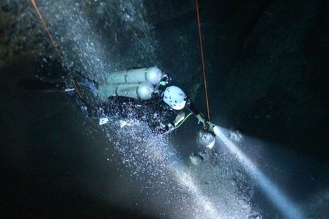 Mapping the Watery Maya Underworld - National Geographic | Cave Diving | Scoop.it