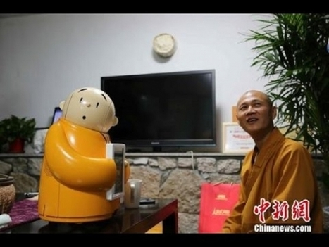 Robot Monk in China Shows Marriage of Artificial Intelligence & Buddhism | Global Brain | Scoop.it