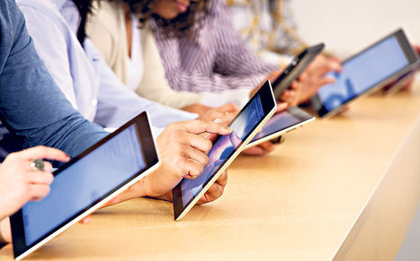 Should pupils be using tablet computers in school? - Telegraph | Digital Storybooks | Scoop.it