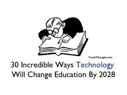 30 Incredible Ways Technology Will Change Education By 2028 | MECIX | Scoop.it