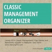 Infographic: Classic Management Organizer | Infogram | Diary n Gifts | Scoop.it