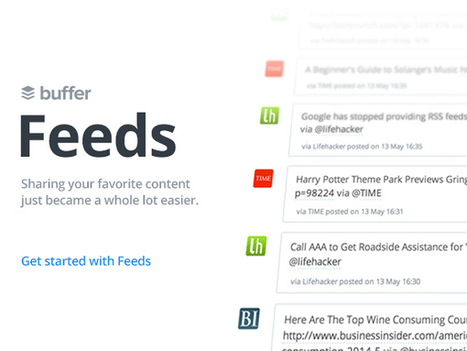 Social Media Scheduling App Buffer Adds Content Feeds In Dashboard Play | TechCrunch | SocialMoMojo Web | Scoop.it