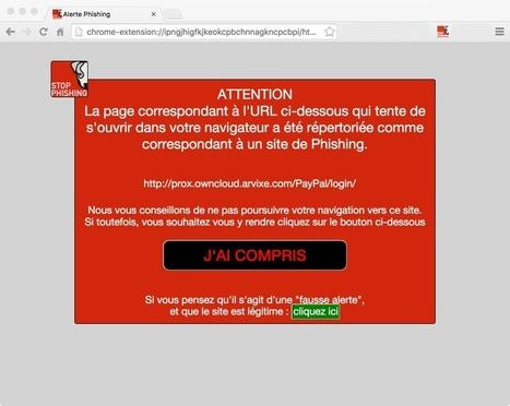 Stop Phishing, une extension pratique et compatible avec le webmail Free | Freewares | Scoop.it