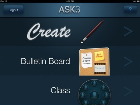 world-shaker: Ask3 – An iPad App for Creating... | Exploring the flipped classroom | Scoop.it