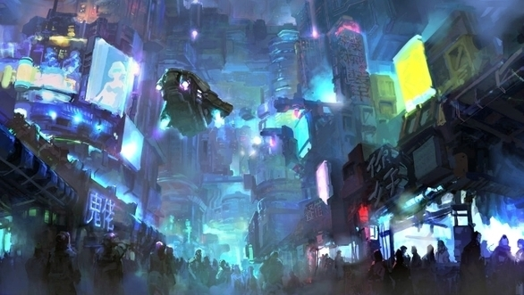 Post-Sapiens, les êtres technologiques - Singapore's dream of becoming a cyberpunk city of the future sees it digitise mail