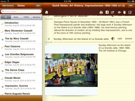 Take notes for school with CourseNotes for iPad | iPads and Tablets in Education | Scoop.it