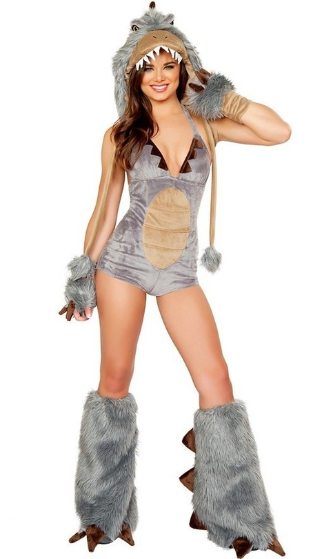 Sexy Adult Furry Dinosaur Costume for Halloween Cosplay   Favorite Costumes   Scoop.it