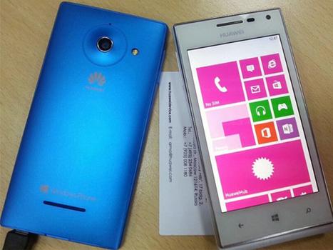 Huawei se une a Windows Phone con el Ascend W1 | Mobile Technology | Scoop.it