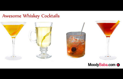8 Great Cocktail Ideas for Whiskey Drinks | moodybaba.com | It's All About Entertainment | Scoop.it