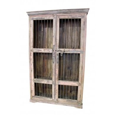 Old World Bookcase With Iron Bar Doors | Old World Bookcase With Iron Bar Doors | Scoop.it