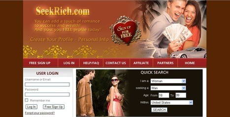 Rich dating site --- Build relationship with rich, wealthy and successful singles and friends worldwide!   Seek rich singles   Scoop.it
