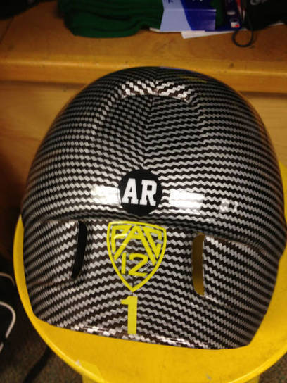 "Oregon to Wear ""AR"" Patch In Memory of Tennis Star - GoDucks.com 