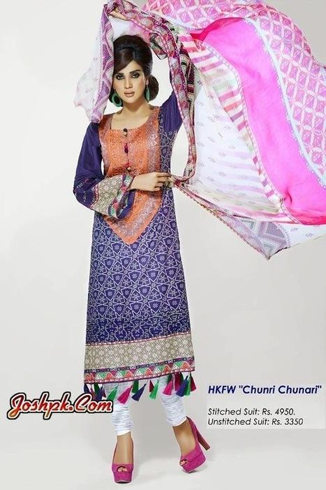Women Colorful Party Summer Wear Dresses 2014 By Hadiqa Kiani   joshpk   Scoop.it