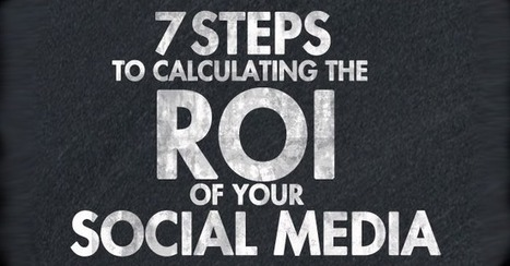 7 Easy Steps to Calculating the ROI of Your Social Media (Infographic) | social musings | Scoop.it