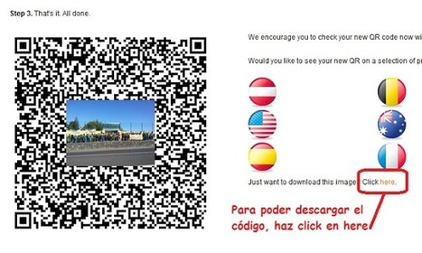 Crear un Código QR de Coordenadas Geográficas | REALIDAD AUMENTADA Y ENSEÑANZA 3.0 - AUGMENTED REALITY AND TEACHING 3.0 | Scoop.it