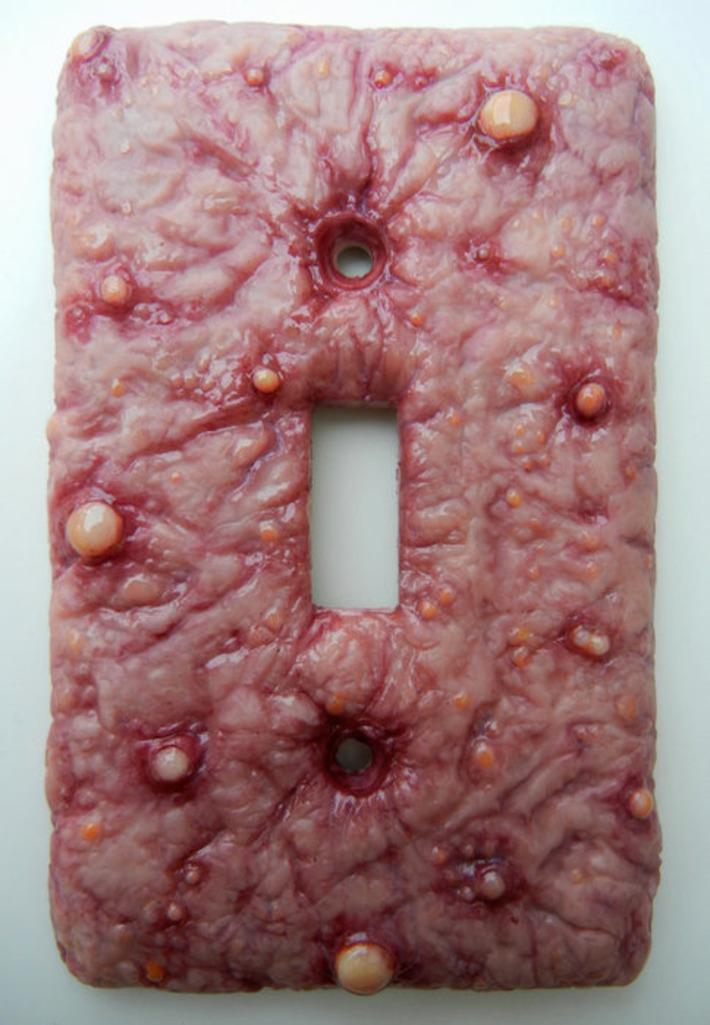 Diseased switch plate | Kitsch | Scoop.it