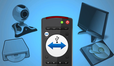 How to Remote Control USB Devices with #Teamviewer | Time to Learn | Scoop.it